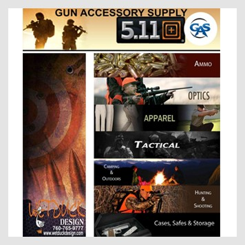 GUN ACCESSORY SUPPLY & 511 APPAREL